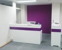 東京都中野区のフィットネスジムの内装塗装工事の施工事例