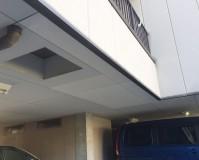 東京都足立区駐車場の天井塗装・補修工事の施工事例