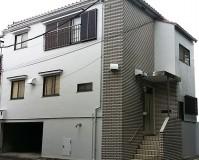 東京都世田谷区の外壁塗装・軒補修工事の施工事例