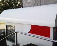 東京都八王子市ATMの外壁塗装工事の施工事例