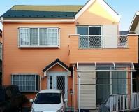 埼玉県八潮市の外壁塗装・屋根葺き替え工事の施工事例