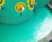 神奈川県横浜市幼稚園の手洗い場塗装工事の施工事例