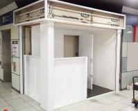 埼玉県越谷市駅構内の鉄部塗装工事の施工事例