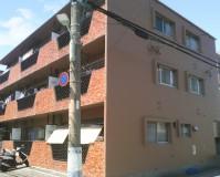 東京都大田区マンションの外壁塗装工事の施工事例
