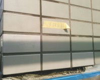 東京都江東区ビルの外壁タイル補修工事の施工事例