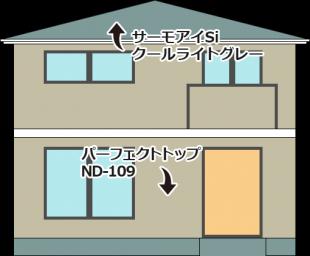 東京都足立区保木間の外壁塗装・屋根塗装工事の施工事例(20160045)