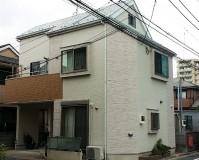東京都江戸川区戸建て住宅の外壁塗装・屋根塗装工事の施工事例