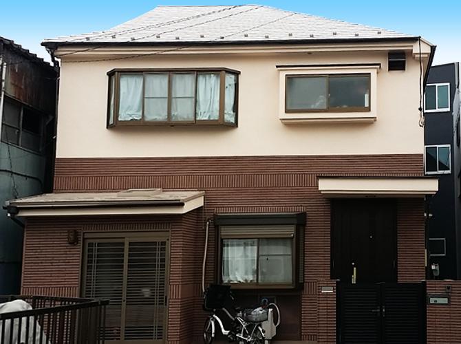 葛飾区K様邸の外壁塗装・屋根塗り替え工事の完了