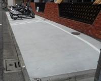 東京都大田区マンション駐車場の土間打ち工事の施工事例