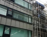 東京都千代田区ビルの外壁塗装・シール工事の施工事例