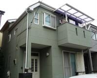 東京都足立区江北一般住宅の外壁塗装・屋根塗装工事の施工事例