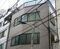 東京都北区ビルの外壁塗装・シール工事・防水工事の施工事例