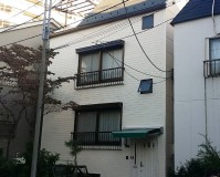 東京都文京区戸建住宅の外壁塗装・屋上防水工事の施工事例