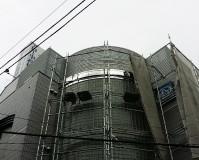 東京都板橋区オフィスビルの外壁タイル補修工事の施工事例