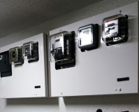 神奈川県横浜市マンションのメーターBOXサビ止め塗装工事の施工事例