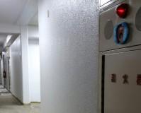 神奈川県横浜市マンション共用廊下の壁塗装工事の施工事例