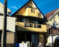 東京都東久留米市戸建て住宅の外壁塗装・屋根塗装工事の施工事例
