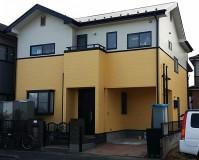 埼玉県草加市戸建住宅の外壁塗装・屋根塗装工事の施工事例