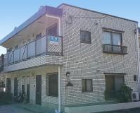 東京都杉並区外壁タイルのアパートのが外壁塗装・屋根塗装工事の施工事例