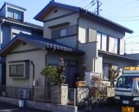 埼玉県越谷市戸建住宅の外壁塗装工事の施工事例