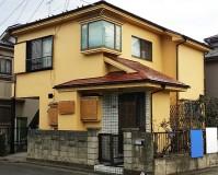 東京都東久留米市モルタル外壁の戸建住宅の外壁塗装・屋根塗装工事の施工事例