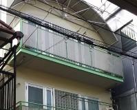 東京都江東区戸建住宅の外壁塗装工事の施工事例