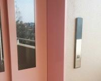 埼玉県越谷市マンションのエレベーター枠塗装工事の施工事例