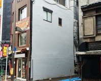 東京都北区店舗ビルの外壁塗装工事の施工事例