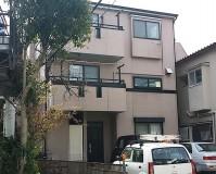 東京都足立区戸建住宅のプレミアムシリコンを使った外壁塗装・屋根塗装工事の施工事例