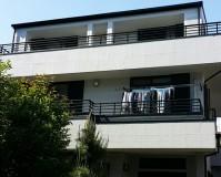 東京都練馬区石吹きの外壁の家の外壁塗装・屋根塗装工事の施工事例