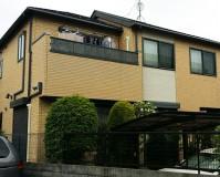 東京都荒川区戸建住宅の外壁塗装・屋根塗装工事の施工事例