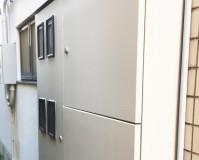 神奈川県横浜市オフィスビルの鉄部サビ止め塗装工事の施工事例