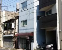 東京都台東区一般住宅の外壁塗装工事の施工事例