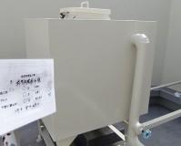 東京都品川区マンションの屋上水槽の鉄部錆止め塗装工事の施工事例