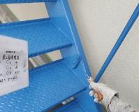 東京都品川区マンションの外階段塗り替えリフォーム工事の施工事例