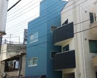 東京都台東区一般住宅の外壁塗装・付帯部塗装工事の施工事例