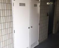 千葉県柏市マンションの鉄部錆止め塗装工事の施工事例