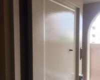 埼玉県さいたま市浦和区マンションの玄関ドア錆染塗装工事の施工事例