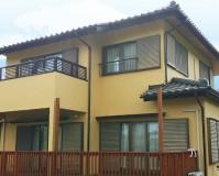 千葉県八街市一戸建て住宅の外壁塗装・瓦屋根の漆喰補修工事の施工事例