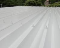 神奈川県横浜市幼稚園の折板屋根塗装工事の施工事例