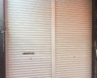 東京都台東区ビルの手すり・シャッターなど鉄部錆止め塗装工事の施工事例