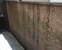 東京都北区住居兼アパートの擁壁・ブロック塀塗装工事の施工事例