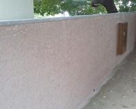 東京都北区住宅兼アパートの擁壁塗装工事の施工事例