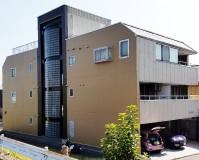 東京都葛飾区4階建マンションの外壁塗装・シール打ち替え工事の施工事例
