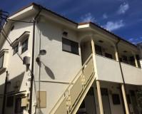 東京都豊島区アパートの外壁塗装・付帯部塗装・鉄部塗装工事の施工事例