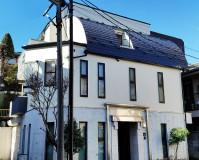 東京都文京区戸建住宅の外壁塗装・屋根塗装・屋根葺き替え工事の施工事例