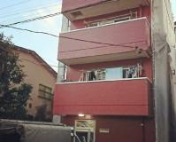 東京都板橋区マンションの外壁塗装・鉄部塗装工事の施工事例