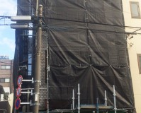 東京都台東区戸建住宅の外壁塗装・屋上防水工事の施工事例