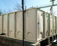 茨城県守谷市工場の外壁・天端塗装工事の施工事例