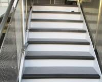 東京都豊島区マンションの階段・廊下長尺シート工事の施工事例